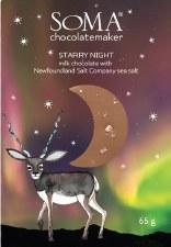 """Soma """"Starry Night"""" Milk Chocolate"""