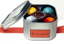 """Chocolopolis 10th Anniversary """"Then and Now"""" Truffle Collection"""