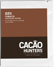 Cacao Hunters Tumaco 82% Dark Chocolate