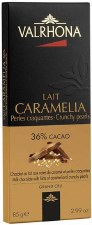 Valrhona Caramelia with Crunchy Pearls 36% Milk Chocolate