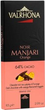 Valrhona Manjari Orange 64% Dark Chocolate