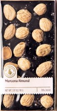 Wildwood Chocolate Marcona Almond with Sea Salt 70% Dark Chocolate Bar