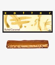 Zotter Butter Caramel Filled Chocolate Bar