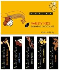 Zotter Variety Kids Drinking Chocolate Box