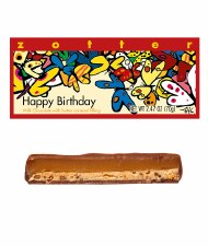 "Zotter ""Happy Birthday"" Butter Caramel Bar"