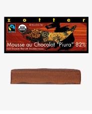 "Zotter ""Mousse Au Chocolat Piura 82%"" Filled Chocolate Bar"