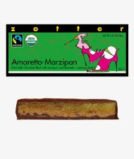 Zotter Amaretto Marzipan Filled Bar