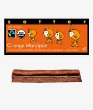 Zotter Orange Marzipan Filled Bar