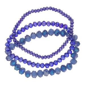 3 Strand Bead Bracelet