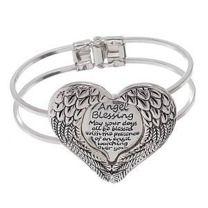 Angel Blessing Bangle Bracelet