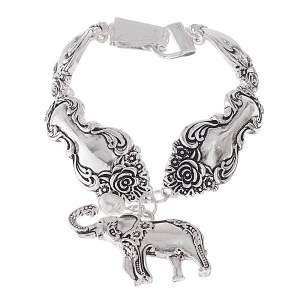 Elephant Spoon Bracelet