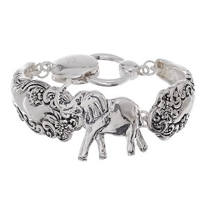 Elephant Spoon Bracelet