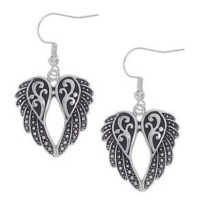 Angel Wing Dangle Earrings