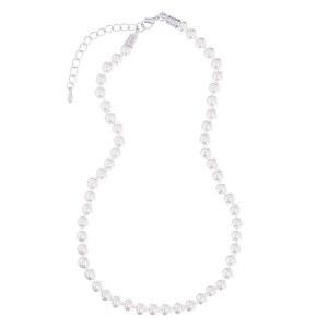 8mm Pearl Strand Necklace Cream
