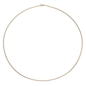 2mm Gold Wire Choker 20""