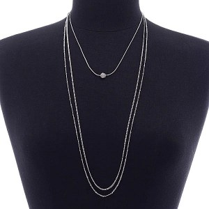 2 Piece Layered Necklace Set