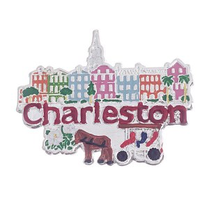 Charleston Pendant / Pin Multi