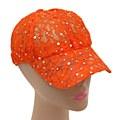 Lace Baseball Cap Orange
