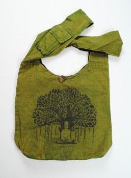 Green Tree of Life Shoulder Bag
