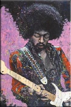 Fishwick Jimi Hendrix Poster