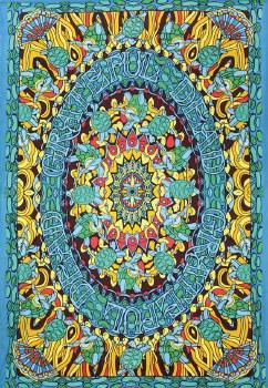 Grateful Dead Terrapin Dance Tapestry