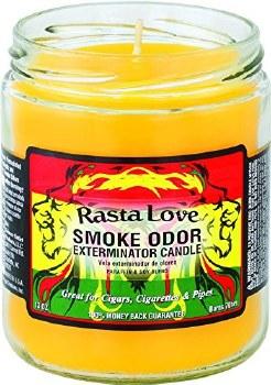 13oz Smoke Exterminator Candle Rasta Love