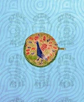 Peacock Coin Purse