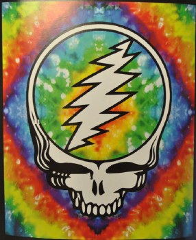Steal Your Face Fleece Throw