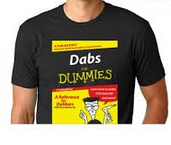 Dabs for Dummies T-Shirt Large