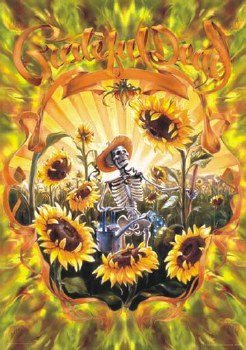"""24"""" x 36"""" Grateful Dead Grower Rolled Poster"""