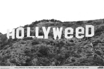 """24"""" x 36"""" Hollyweed Rolled Poster"""