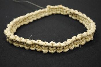 Adjustable Thick Hemp Braided Necklace