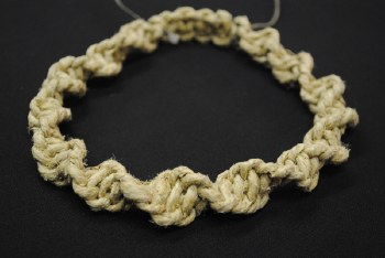Adjustable Thick Hemp Knoted Necklace