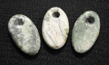 "2.5"" Long Jade Oval Hand Pipe"