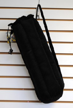 Zipper Drawstring Pipe Pouch with Inside Pocket