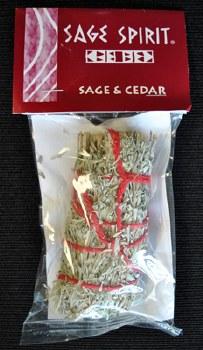 Sage Spirit Sage & Cedar Smudge Stick