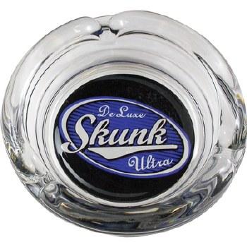 "4"" Glass Skunk Deluxe Ashtray"