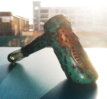 Shipwreck Liberty Collaboration Electroformed Hammer Dry Pipe