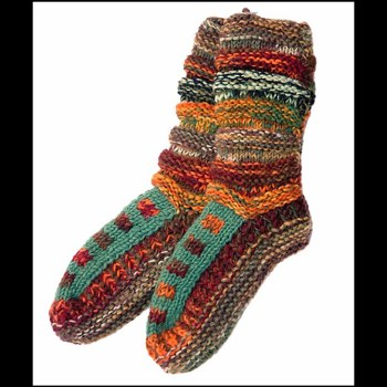 Tall Wool Bootie Slippers