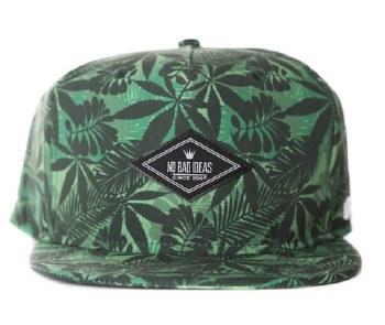Jungle Leaf Green Stash Hat