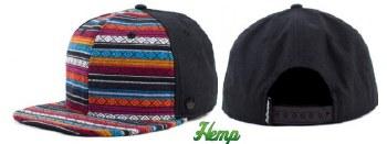 Paz Snapback Hemp Hat
