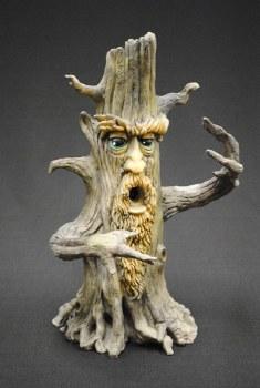 Tower Tree Man Incense Burner