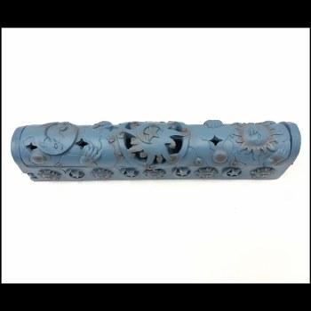 Blue Celestial Coffin Incense Burner