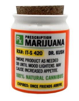 Cork Prescription Stash Jar