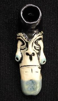 Eye Fall Ceramic Hand Pipe