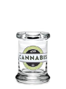 420 Science Pop Top Small Jar 420 Cannabis