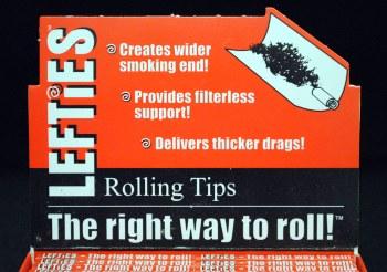 Lefties Rolling Tips