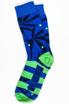 Lil Niko Marijuana Leaf Print Socks