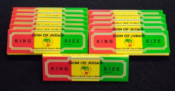 Lion of Judah King Size Rolling Papers