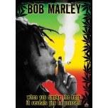 Bob Marley Rasta Herb Poster